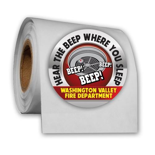 Truck Roll Stickers