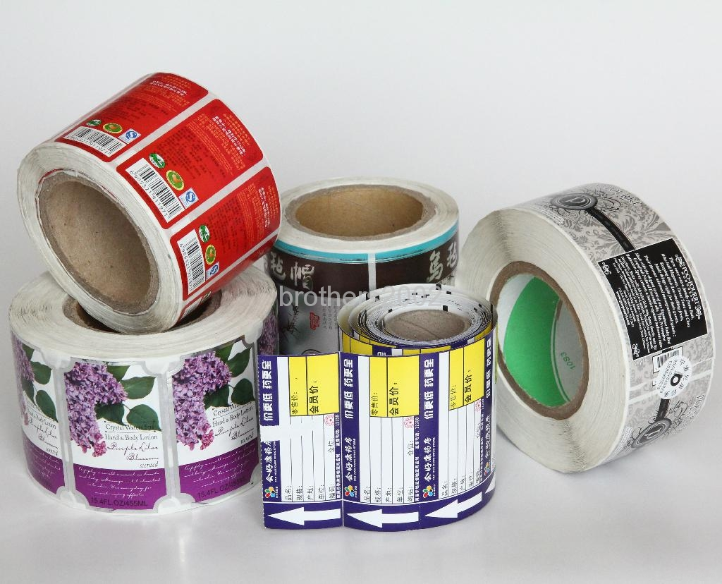 Packaging Roll Stickers