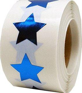 Metallic Roll Stickers