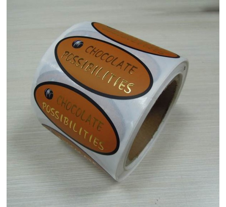 Custom Foil Roll Stickers