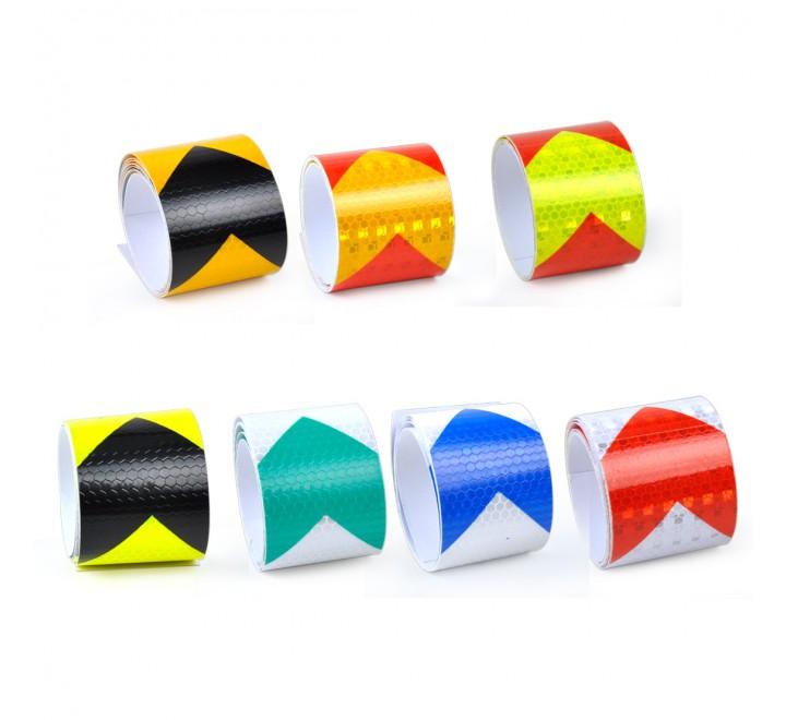 Custom Reflective Roll Stickers