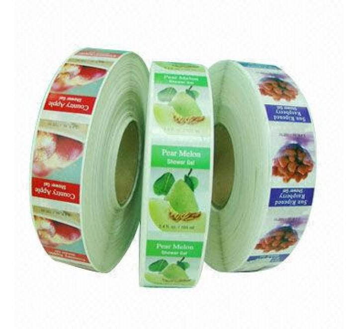 Custom Waterproof Roll Stickers