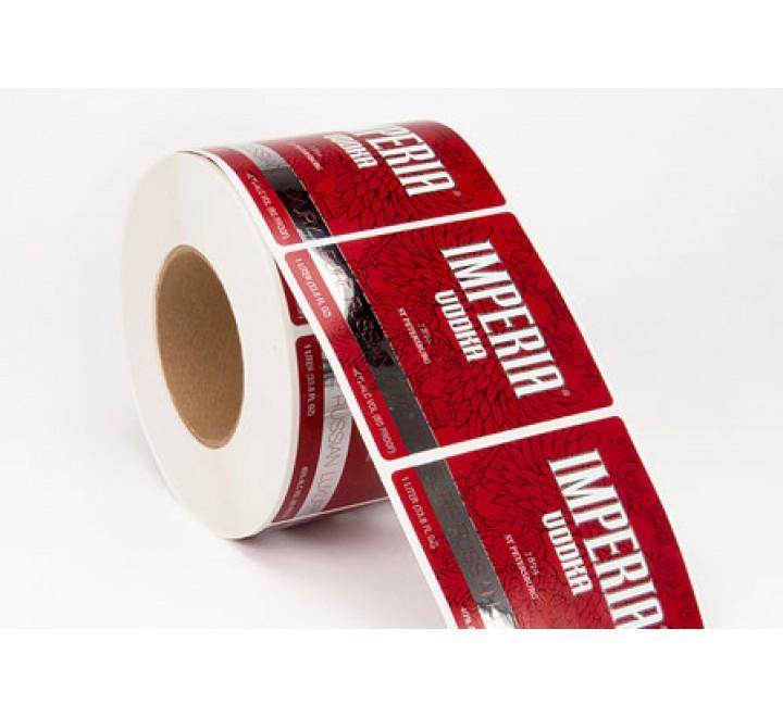 Rectangular Custom Roll Stickers