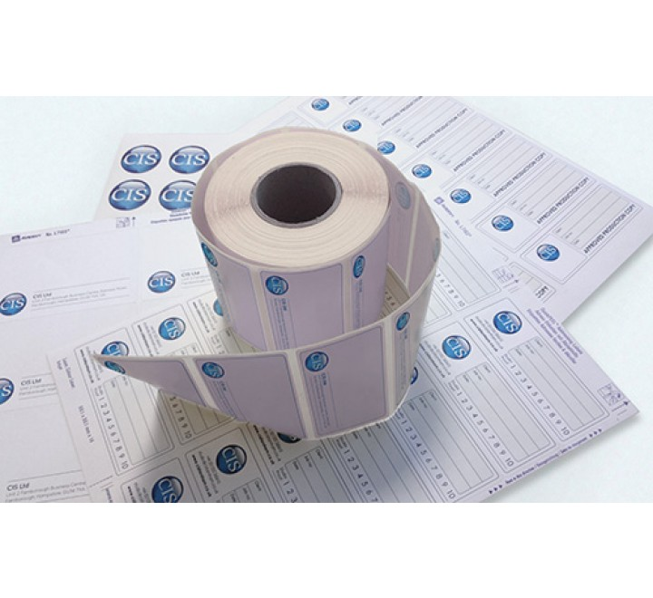 Square Laptop Roll Stickers