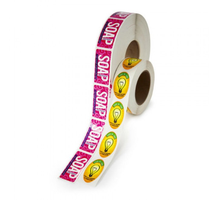 Square Roll Stickers
