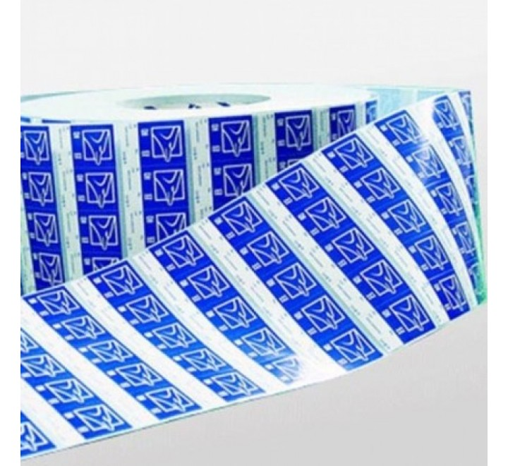Square Static Cling Roll Stickers