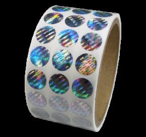 Custom Hologram Roll Stickers