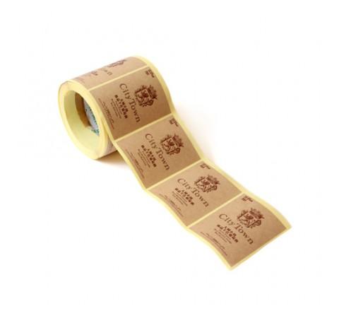 Custom Auto Roll Stickers