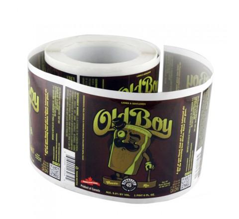 Custom Band Roll Stickers