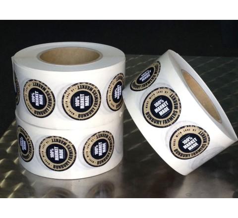 Custom Roll Stickers Paper