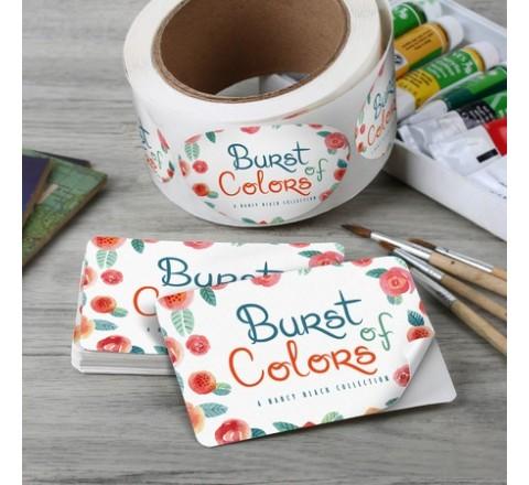 Die Cut Bumper Roll Stickers