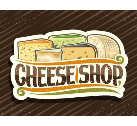Die Cut Cheese Labels