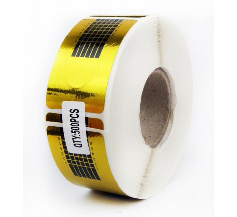 Rectangular Foil Roll Stickers
