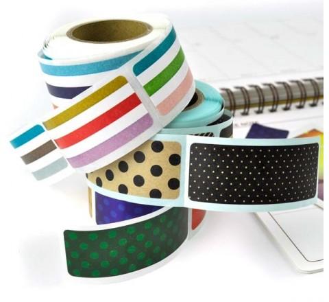 Rectangular Roll Stickers