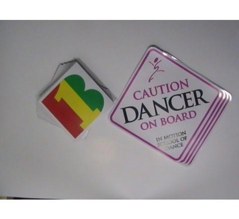 Square Wholesale Stickers